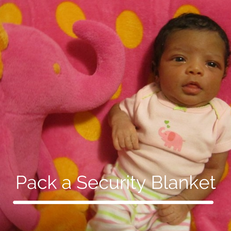 Pack a Security Blanket